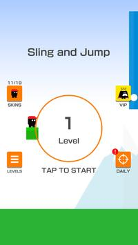 Sling and Jump Affiche