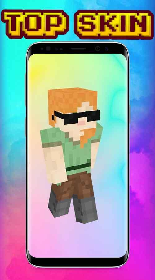Steve And Alex Skin For Minecraft Pe For Android Apk Download