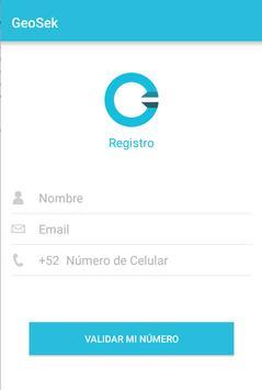 GeoSek screenshot 2