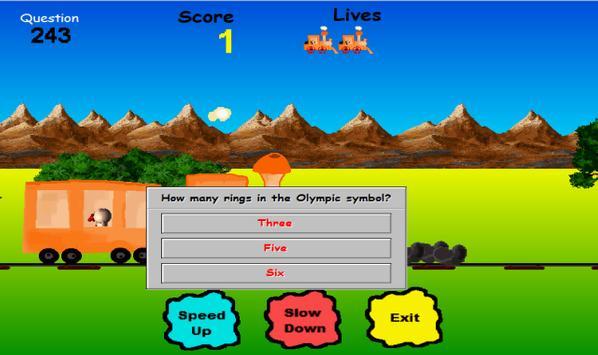 Trivia Train screenshot 1