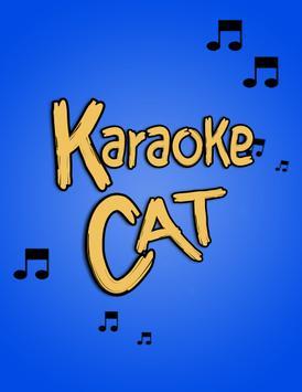 Karaoke Cat poster