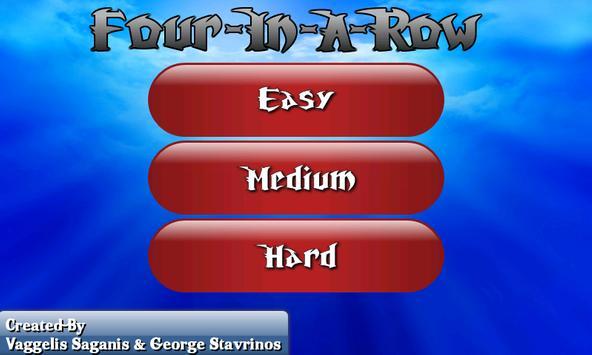 Four In A Row screenshot 1