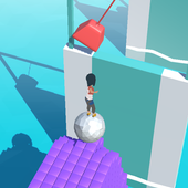 Roll The Ball 3D - Endless running casual game icon
