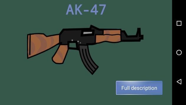 Weapon Doodle Mini Militia 2 Army military guns screenshot 1