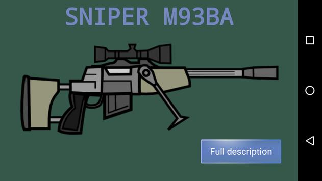 Weapon Doodle Mini Militia 2 Army military guns screenshot 2