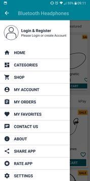 Bluetooth Headphones - Online Shopping screenshot 1