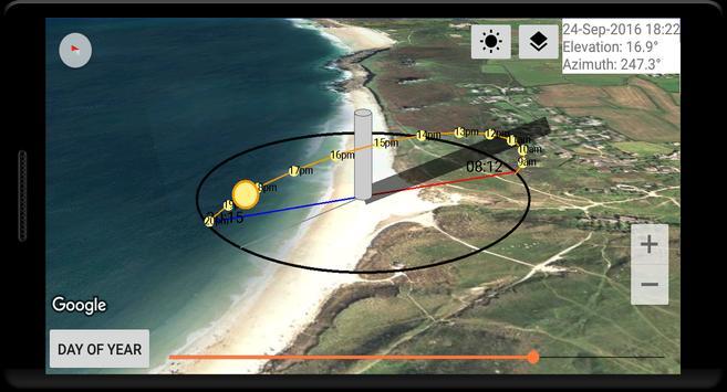 Sun Locator Pro Ekran Görüntüsü 5