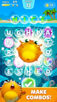 Bubble Word Games! Search & Connect Word & Letters poster