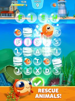 Bubble Word Games! Search & Connect Word & Letters screenshot 12