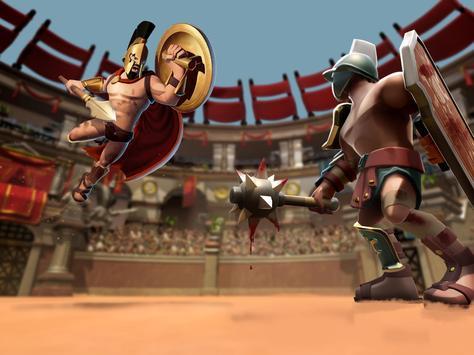 Gladiator Heroes - لعبة استراتيجية تصوير الشاشة 10