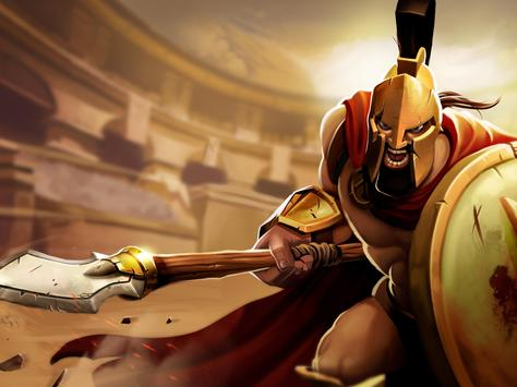 Gladiator Heroes - لعبة استراتيجية تصوير الشاشة 20