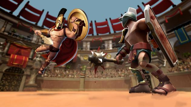 Gladiator Heroes - لعبة استراتيجية تصوير الشاشة 2