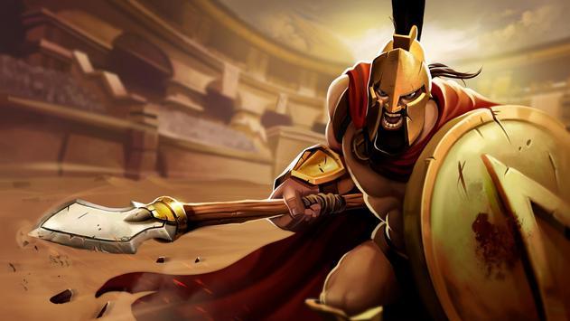 Gladiator Heroes - لعبة استراتيجية تصوير الشاشة 4