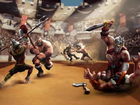 Gladiator Heroes - لعبة استراتيجية تصوير الشاشة 9
