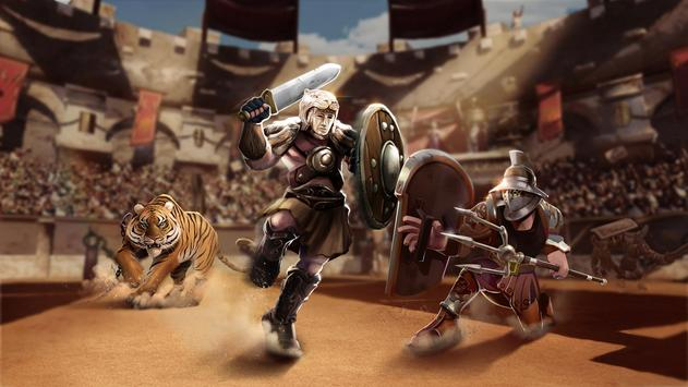 Gladiator Heroes Clash: Fighting and Strategy Game Ekran Görüntüsü 3