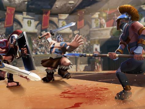 Gladiator Heroes Clash: Fighting and Strategy Game Ekran Görüntüsü 15