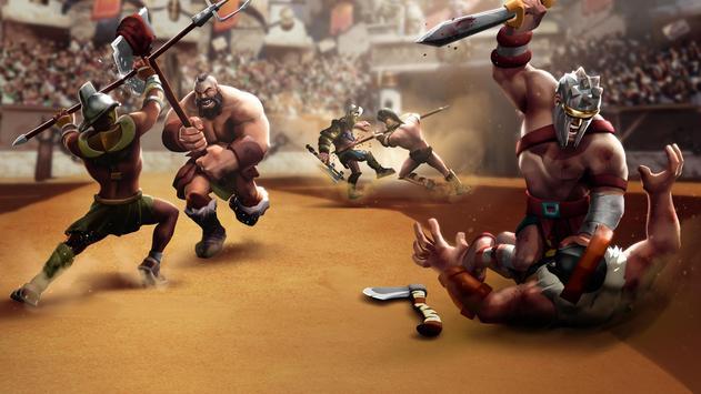 Gladiator Heroes Clash: Fighting and Strategy Game Ekran Görüntüsü 1