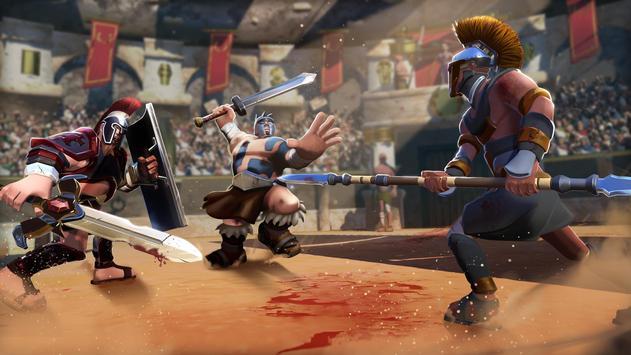 Gladiator Heroes Clash: Fighting and Strategy Game Ekran Görüntüsü 7
