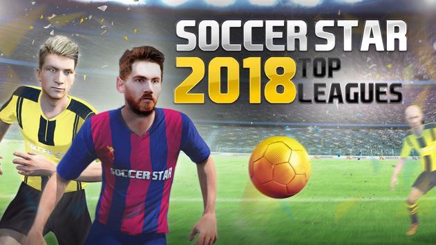Soccer Star 2019 Top Leagues: لعبة كرة القدم تصوير الشاشة 5