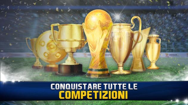 Poster Soccer Star 2019 Top Leagues: Gioco di calcio Vero