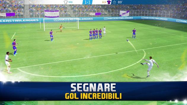 1 Schermata Soccer Star 2019 Top Leagues: Gioco di calcio Vero