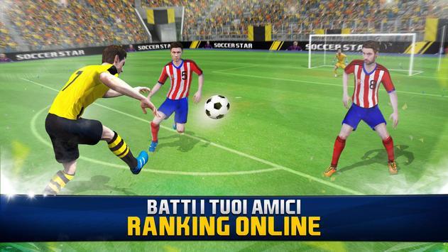 8 Schermata Soccer Star 2019 Top Leagues: Gioco di calcio Vero