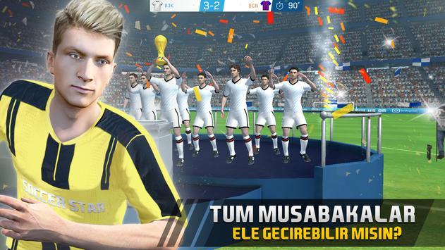 Soccer Star 2019 Top Leagues: Türk Futbol oyunu! Ekran Görüntüsü 15