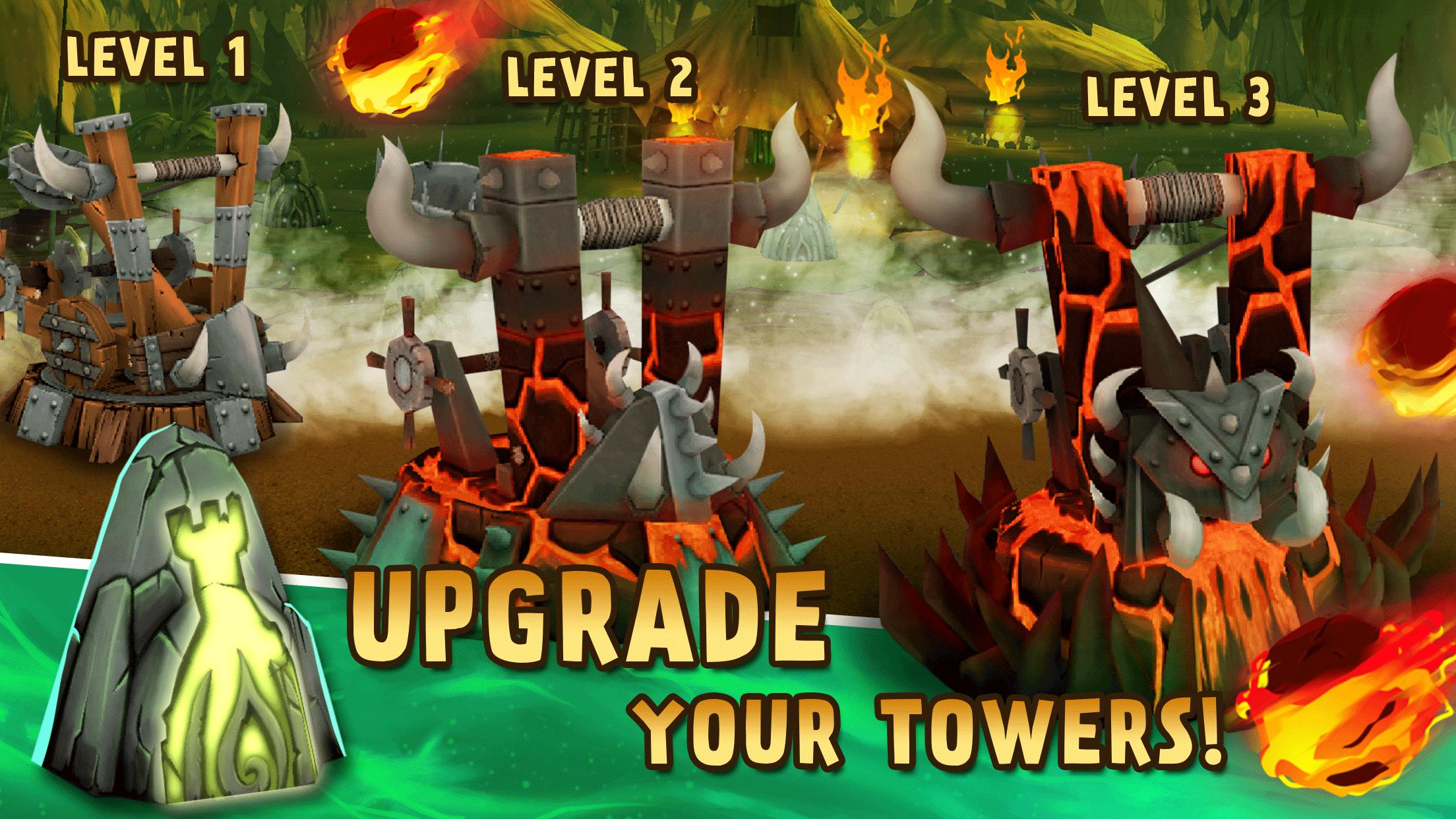 Skull Towers: Best Offline Games Castle Defense for Android - APK