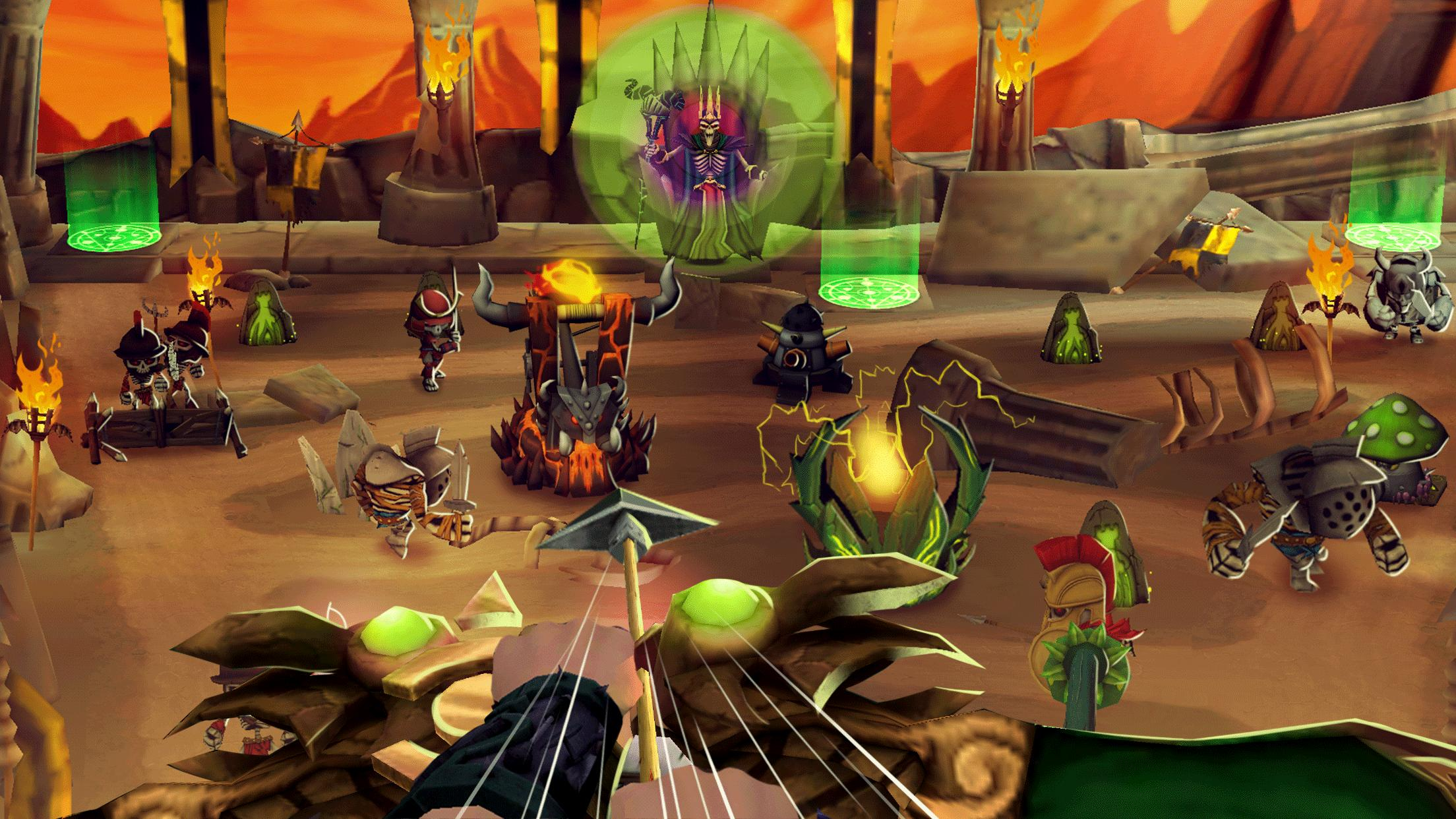 Skull Towers: Best Offline Games Castle Defense for Android