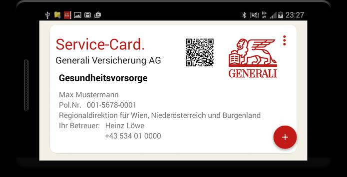 Generali Service-Card App screenshot 5