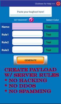 Payload Generator screenshot 3