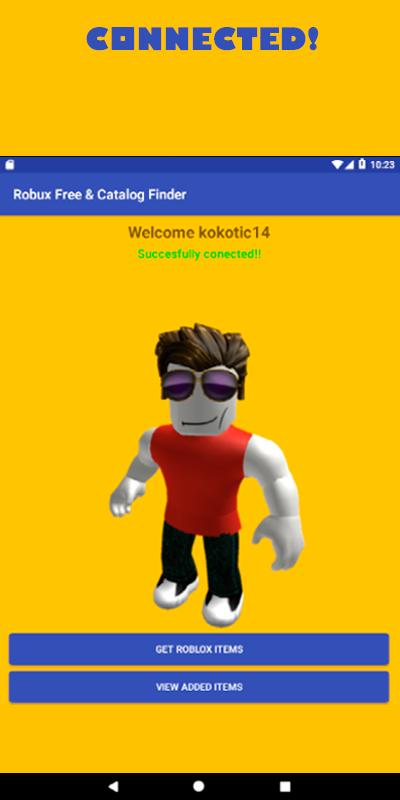 Robux Free tips and Catalog Items finder – 2018 for Android - APK