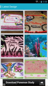 Birthday Cake Ideas Free poster