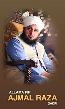 Ajmal Raza Qadri poster