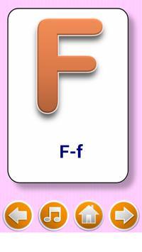 Kids  flashcard game स्क्रीनशॉट 1