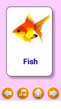 Kids  flashcard game screenshot 2