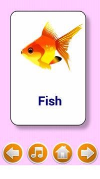 Kids  flashcard game स्क्रीनशॉट 2