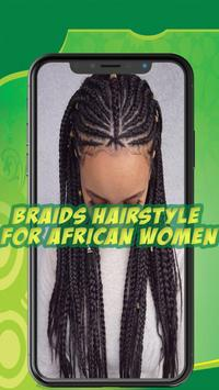 Best African braids - Hairstyle for african women poster