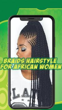 Best African braids - Hairstyle for african women screenshot 3