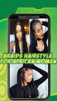 Best African braids - Hairstyle for african women screenshot 4