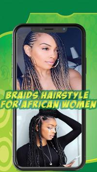 Best African braids - Hairstyle for african women screenshot 5