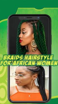 Best African braids - Hairstyle for african women screenshot 6