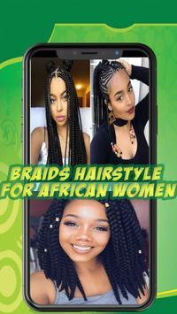 Best African braids - Hairstyle for african women screenshot 7