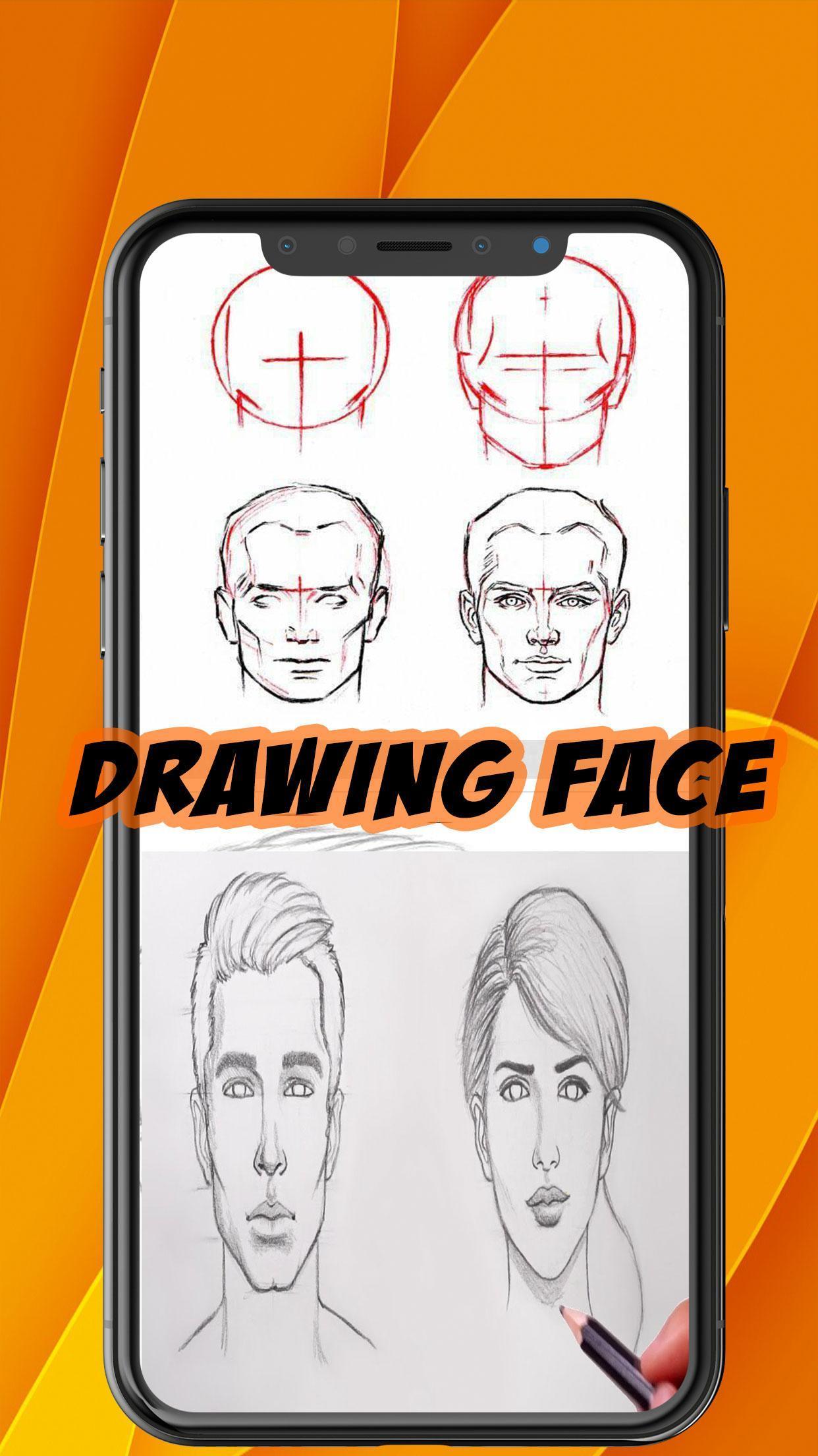 من السهل رسم الوجه خطوة بخطوة For Android Apk Download