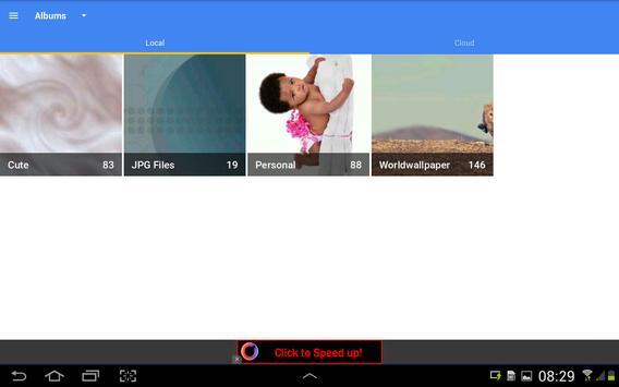 Cloud Gallery capture d'écran 8