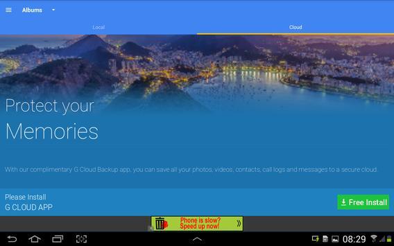 Cloud Gallery capture d'écran 13