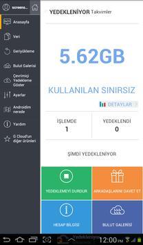 G Cloud Ekran Görüntüsü 14