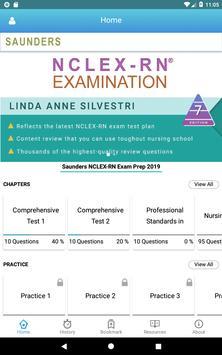 Saunders NCLEX RN Exam 2019 ảnh chụp màn hình 16