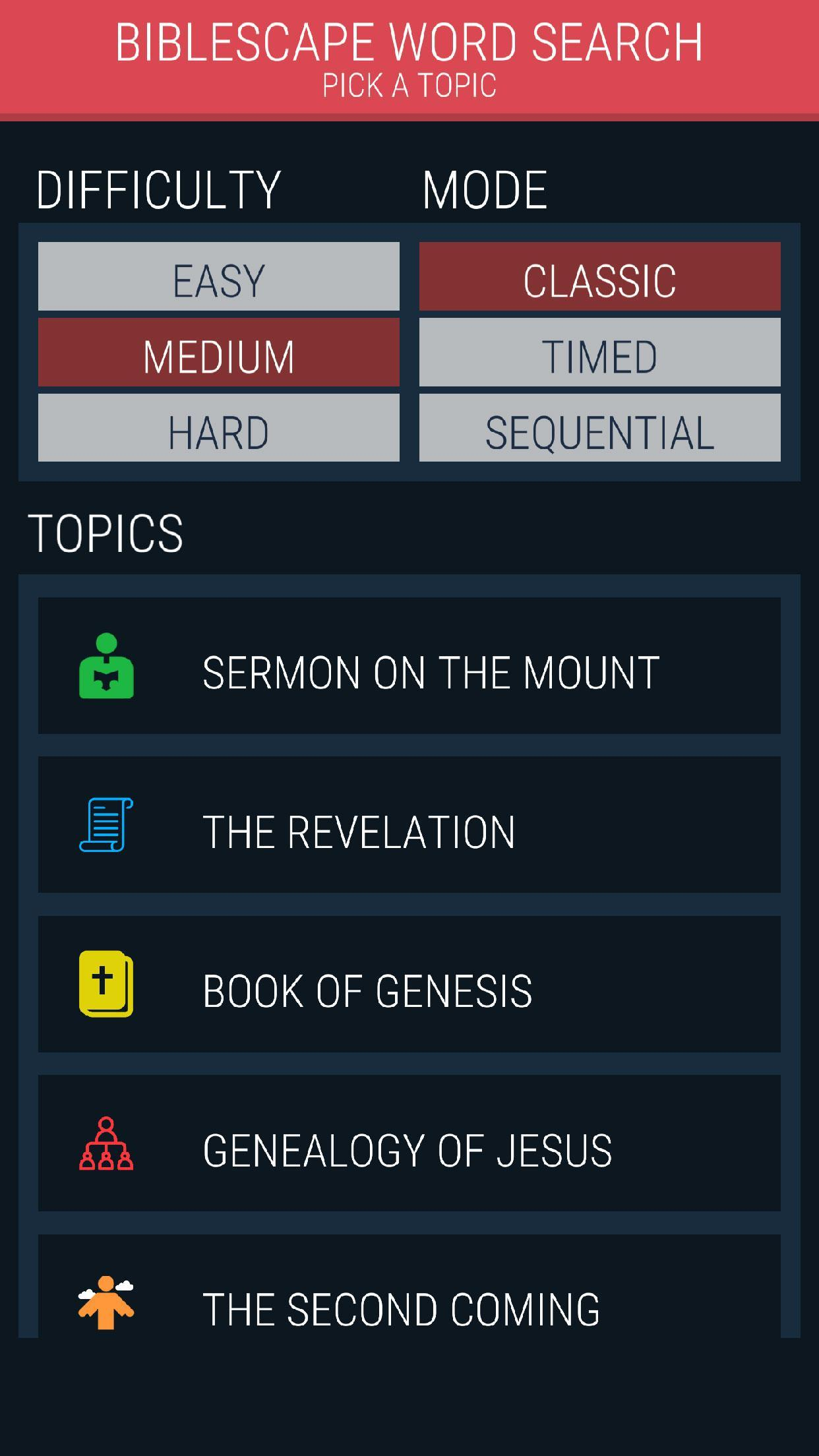 Bible Word Search Finder - Biblescape for Android - APK Download
