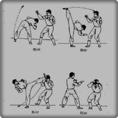 wushu movement icon